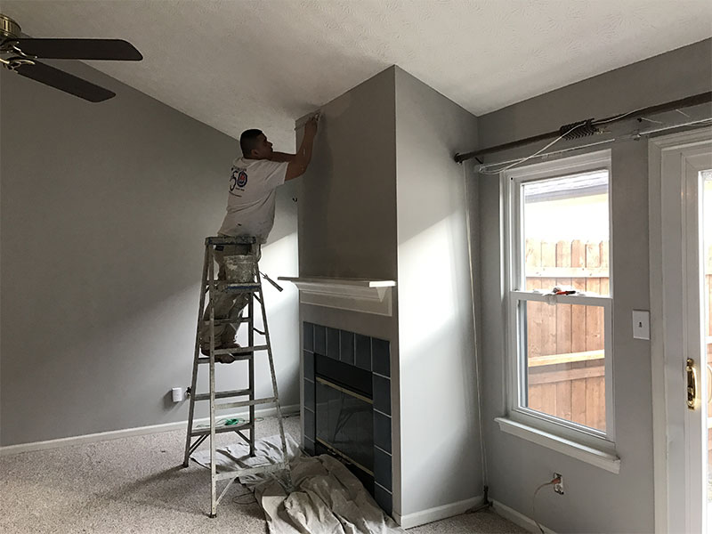 You Can Have Your Crown Molding, Ceiling Or Garage Painted On Top Of  Traditional Interior Painting Jobs. We Also Carry A Variety Of Paint  Finishes, ...